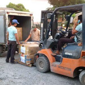 Dịch vụ vận chuyển thực phẩm đi Campuchia