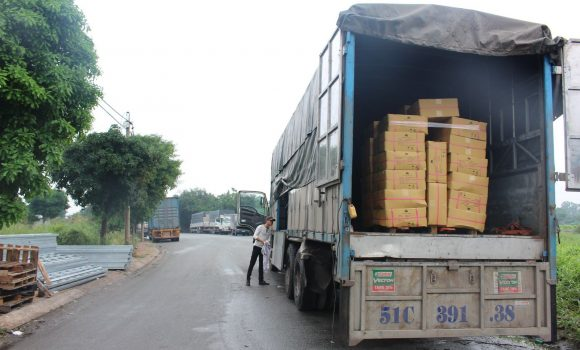 Vận chuyển hàng may mặc đi Campuchia